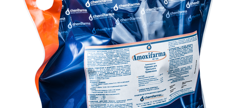 AMOXIFARMA 800 mg/g, prašak