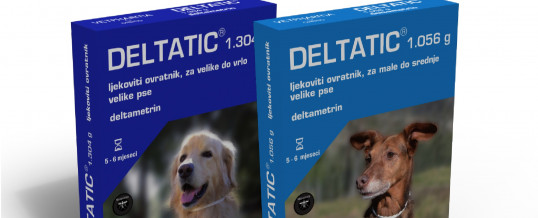 DELTATIC (insekticidna ogrlica za pse) – 60 cm